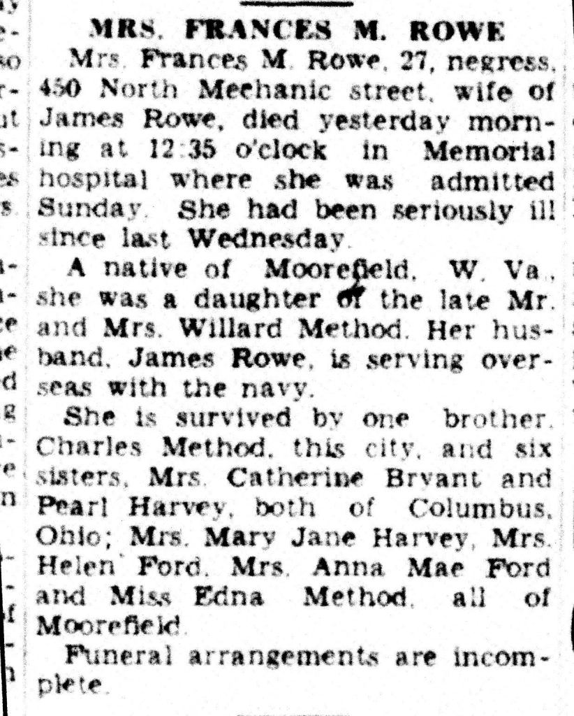 Look at the fancy N-word. Cumberland Evening Times Cumberland, Maryland Wed, Nov 01, 1944 · Page 9